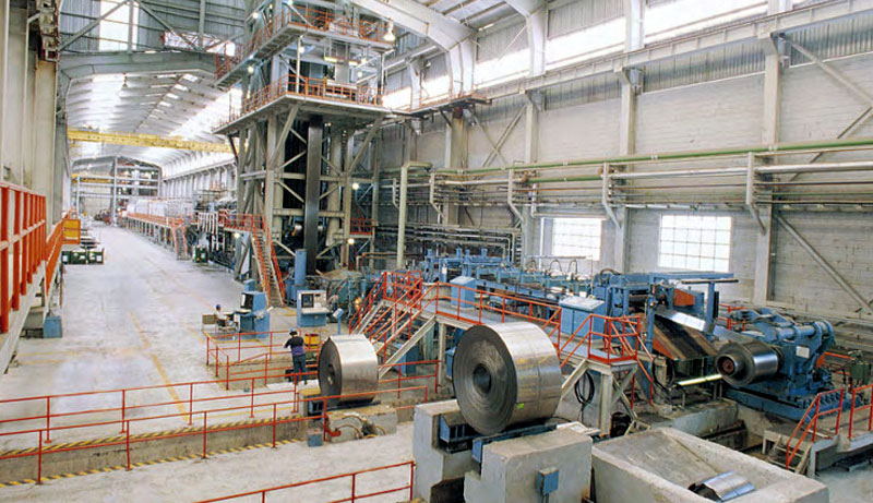 Galvanizing Manufacturing Equipment for Delta Steel Technologies