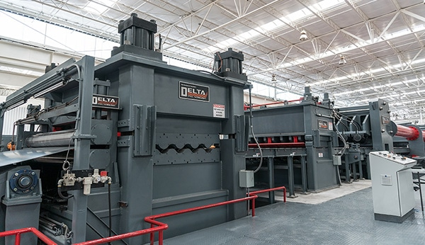 Levelers Manufacturing Equipment | Delta Steel Technology