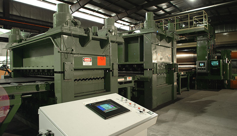 Leveling Manufacturing Equipment for Delta Steel Technologies