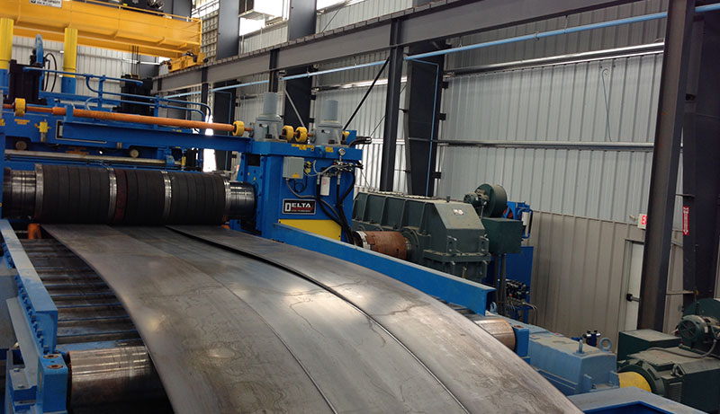 Slitting Lines Manufacturing Equipment for Delta Steel Technologies