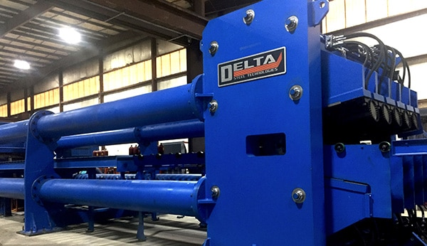 Stretch Levelers Manufacturing Equipment | Delta Steel Technology