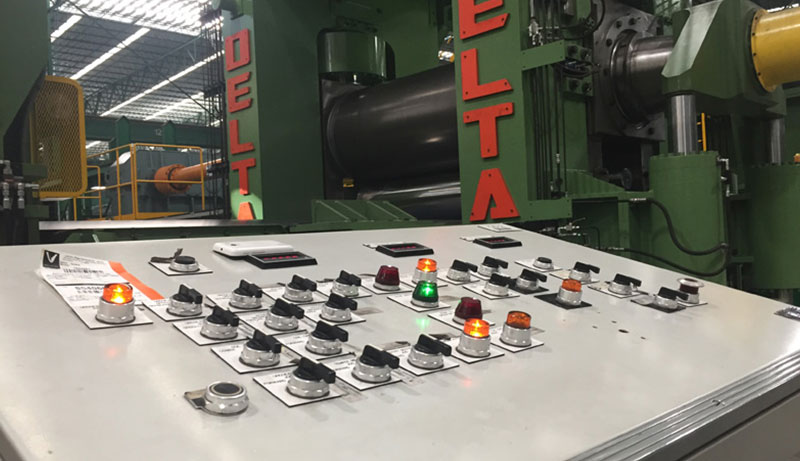 Control Panel for Automation Services by Delta Steel Technologies