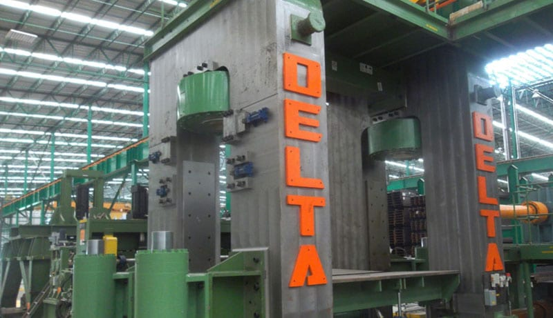 Retrofitting Services for Manufacturing Equipment by Delta Steel Technologies